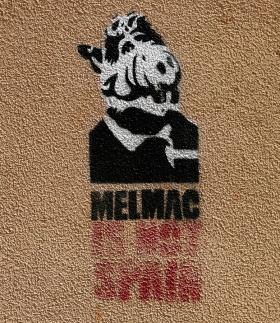 Salamanca Spain - Melmac is not Spain