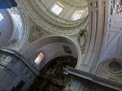 Travel photo Salamanca new cathedral interior David J Rodger All Rights Reserved