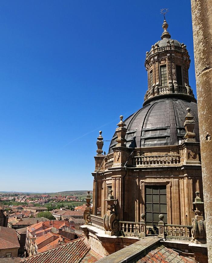 Travel photo Salamanca rooftop of old cathedral David J Rodger