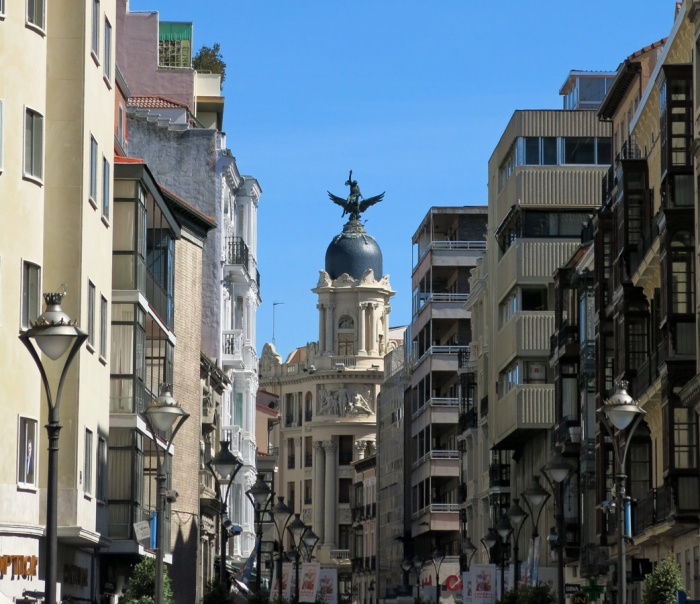 Travel photo - Valladolid Spain - looking into the city