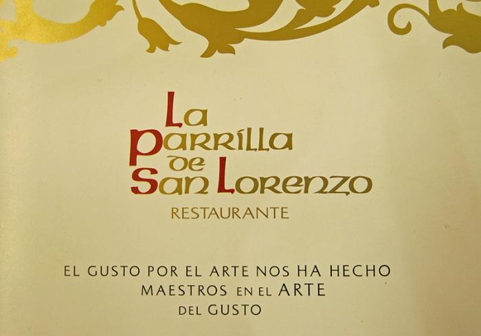 Valladolid - La Parrilla de San Lorenzo - branding