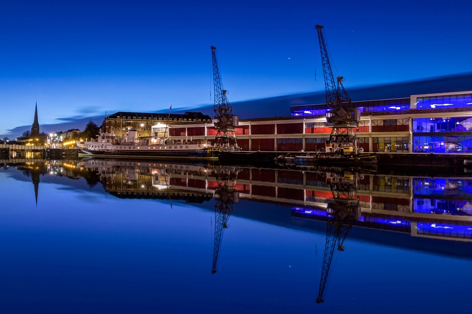 Bristol - creative city caught in reflective light Photography by Sergio Castañares García
