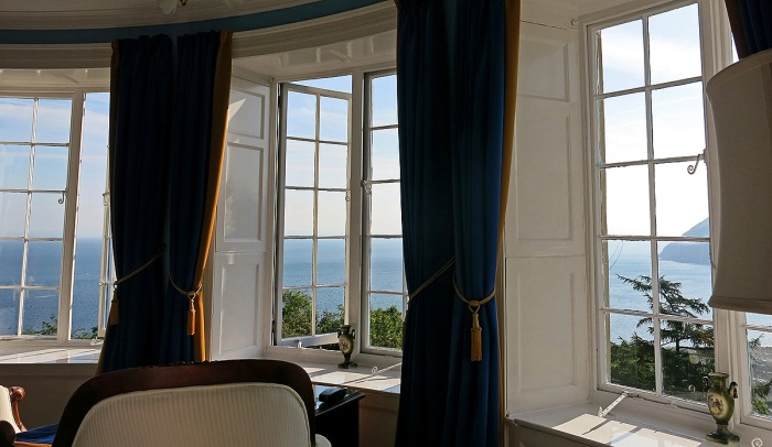 Incredible 3 aspect sea view from Lynton Cottage hotel - Devon England - David J Rodger