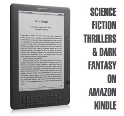 Science Fiction Thrillers and Dark Fantasy novels by David J Rodger available on Amazon Kindle
