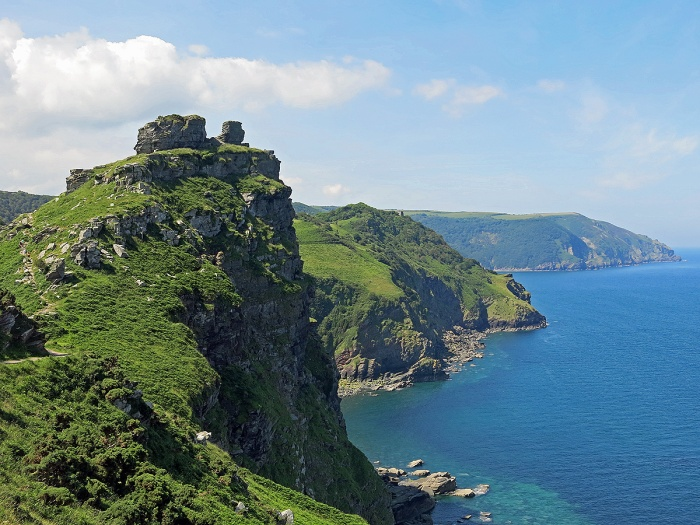 Valley of the Rocks - Lynton - Devon England