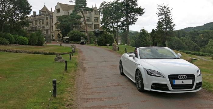 Leaving Bovey Castle