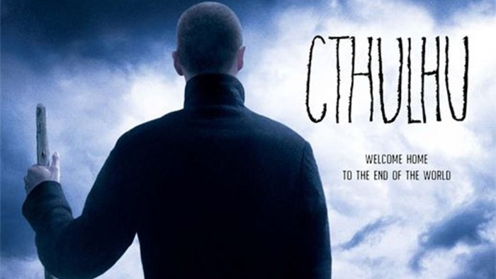 Movie poster for Cthulhu (2007)  Directed by Dan Gildark and written by Grant Cogswell