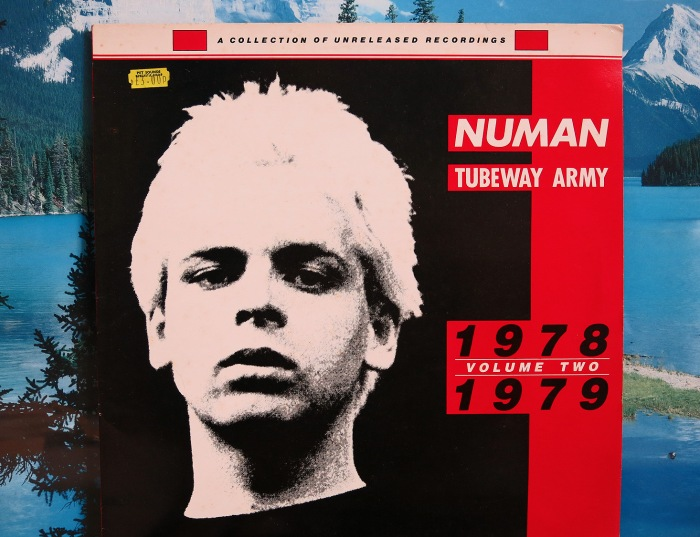 Rare Gary Numan Collection of unreleased recordings 1978 1979 volume 2 - front cover - red vinyl photo David J Rodger (please credit)