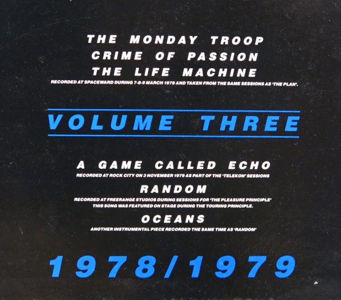 Rare Vinyl Gary Numan Unreleased Recordings 1978 1979