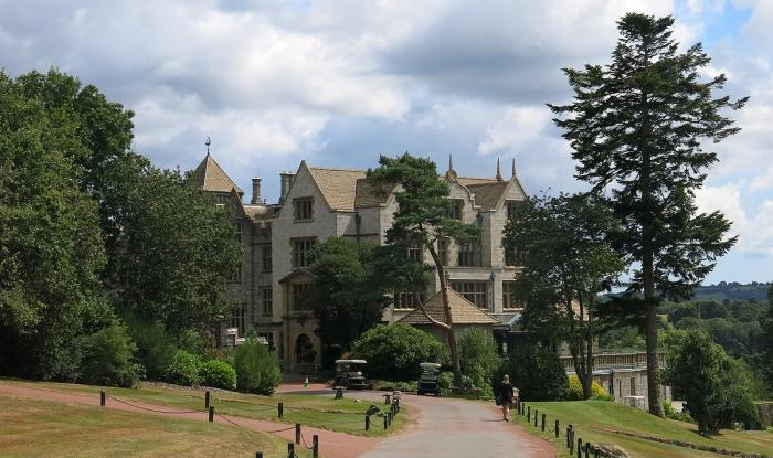 Travel Photo - approaching Bovey Castle Jacobean style - David J Rodger