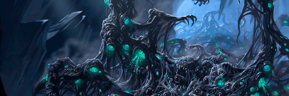 A Great Old One Awakens as the Stars are Right - Cthulhu Mythos