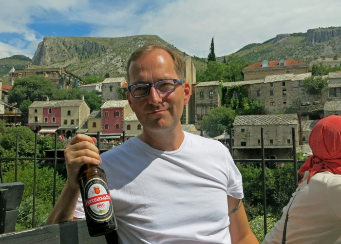 David J Rodger in Mostar - Bosnia