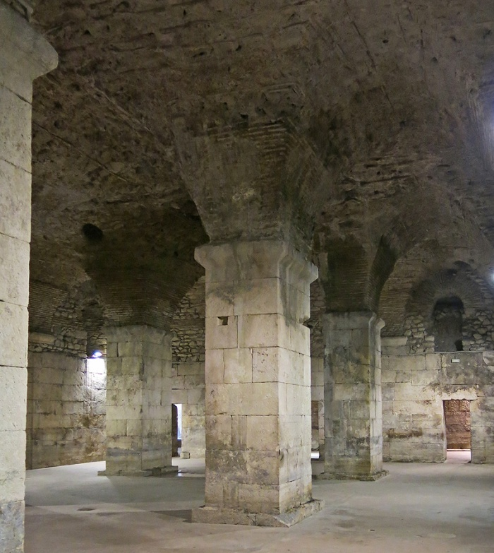Diocletian's palace - Split - Croatia Travel photo by David J Rodger - perfectly preserved for nearly 2,000 years