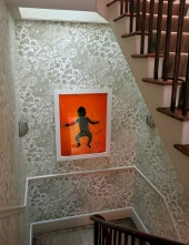 Notting Hill mansion - interior - baby in water - image David J Rodger