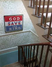 Notting Hill mansion - interior - God Save the King - image David J Rodger