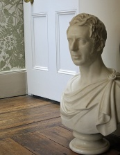 Notting Hill mansion - interior - Roman bust - image David J Rodger