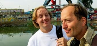 Richy and David J Rodger at NSDM Amsterdam