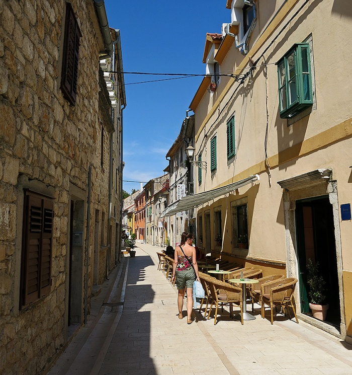 Skradin - Croatia Travel Photo by David J Rodger - street scene