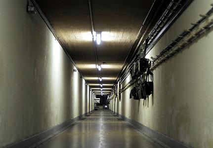 Burlington nuclear Bunker - Site 3 - cold empty tunnels