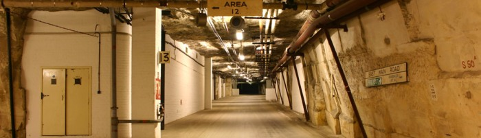Burlington nuclear Bunker - Site 3 - miles of underground tunnels