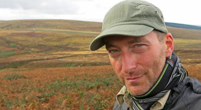 David J Rodger author of Cthulhu Mythos fiction and Dark Fantasy on Dartmoor England