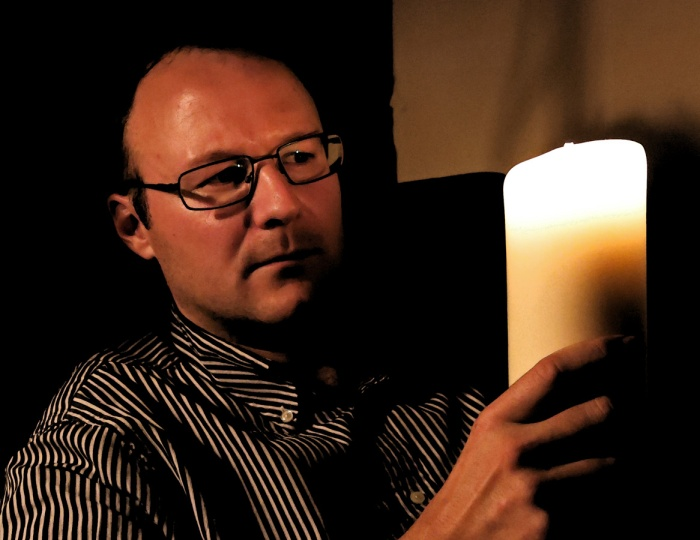 Dr Andy Collins spends Halloween with two horror writers telling him spooky stories
