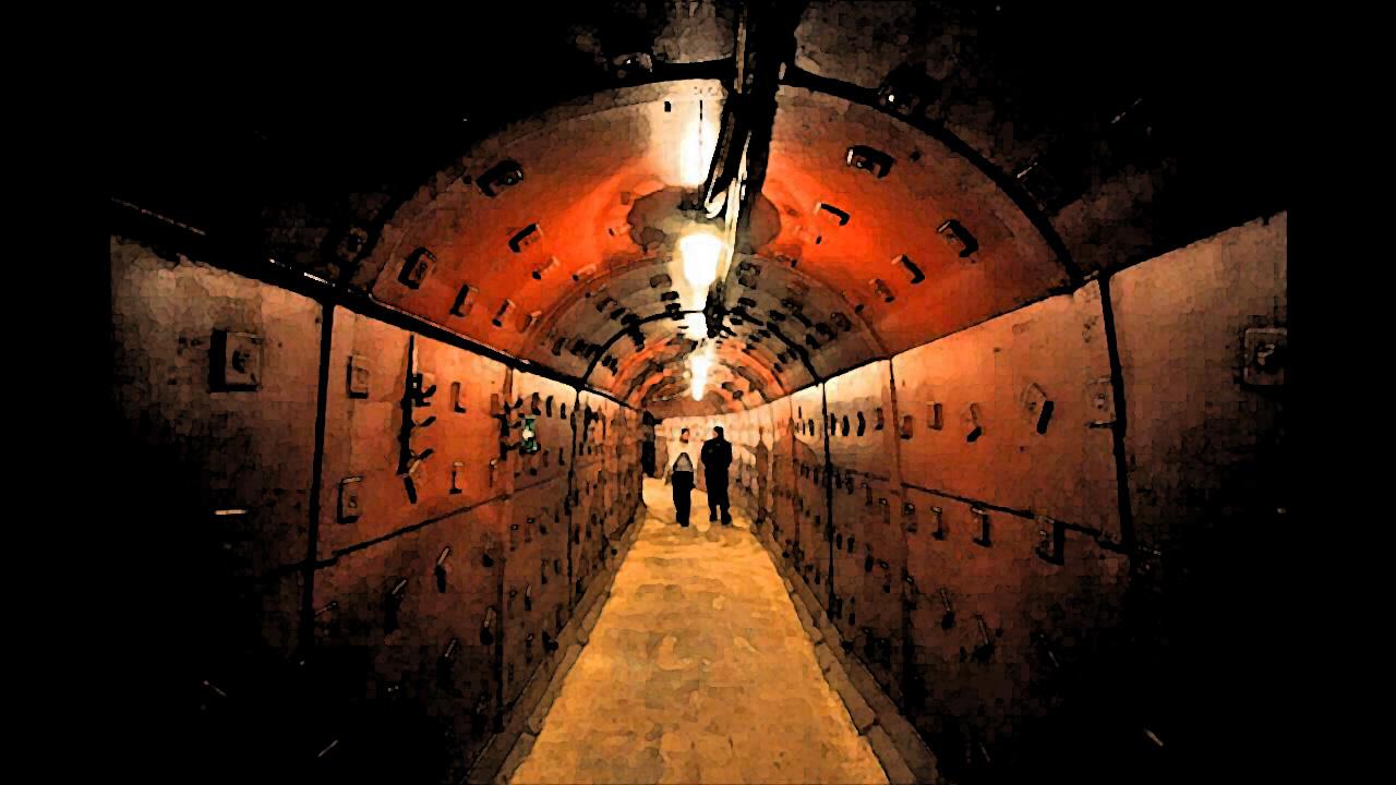 underground nuclear bunker