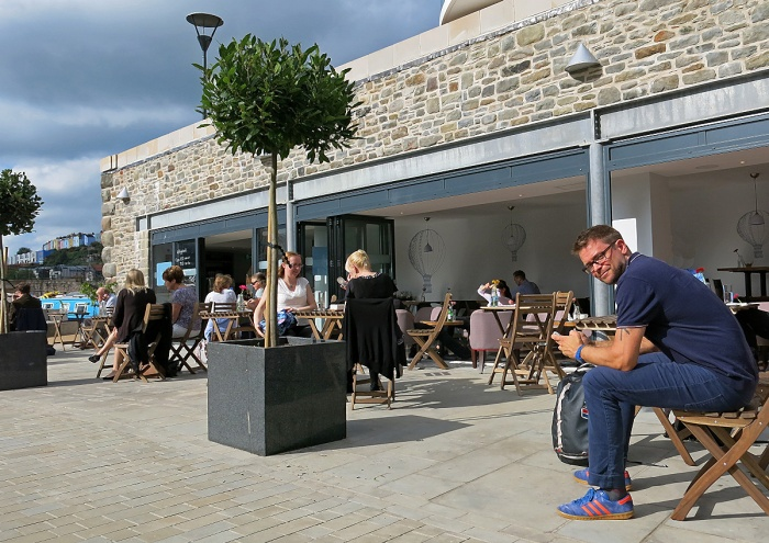 Best cafe in Bristol for coffee and food Brigstow Lounge on Harbour