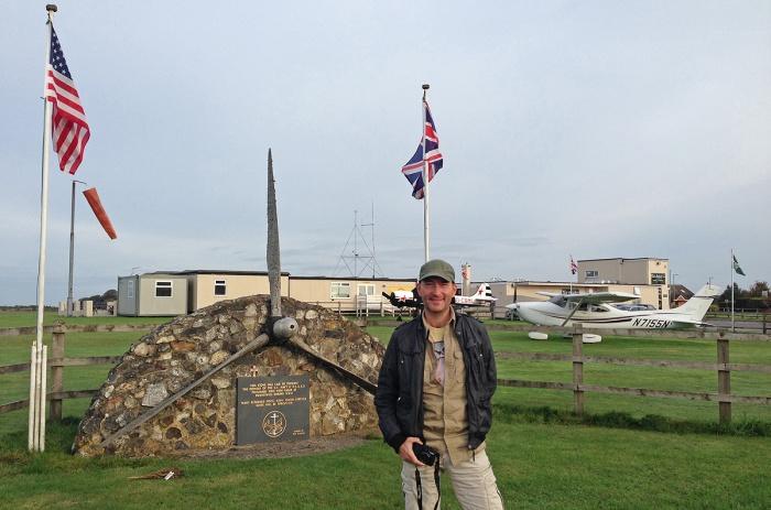 David J Rodger at Dunkeswell Aerodrome