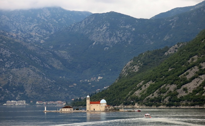 Inland Sea - Montenegro Travel Photo by David J Rodger  - Our Lady of the Rocks