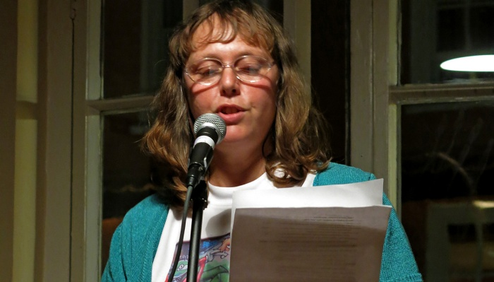 Louise Gethin reads Signs at Small Stories Bristol Nov 2014