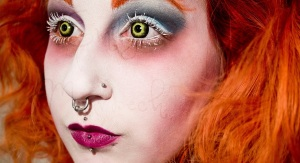 Mad Hatter Make-up project by breathtaken (reddit) all rights reserved