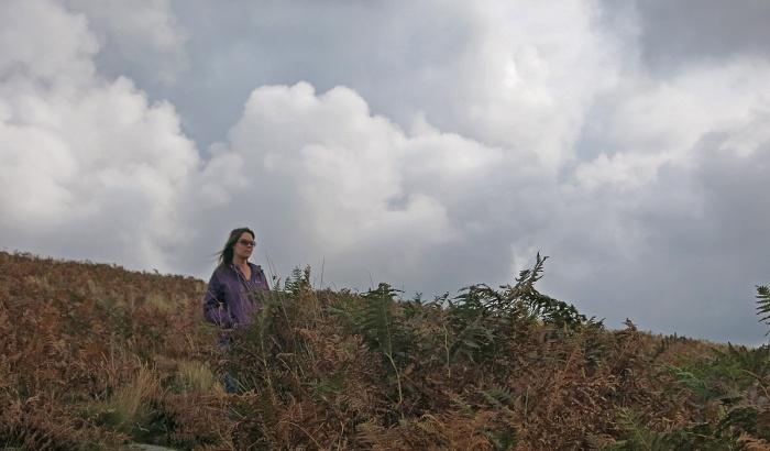 Oj on Dartmoor - photo by David J Rodger