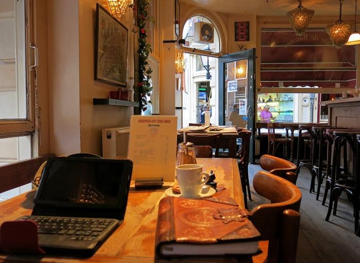The amazing Cafe De Barones Amsterdam