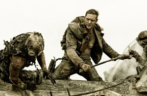 Tom Hardy is Mad Max in Fury Road - Image Warner Bros -  All Rights Reserved