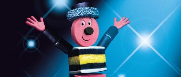 bertie bassett features in a joke where mr cadbury-meets miss-rowntree on  double decker