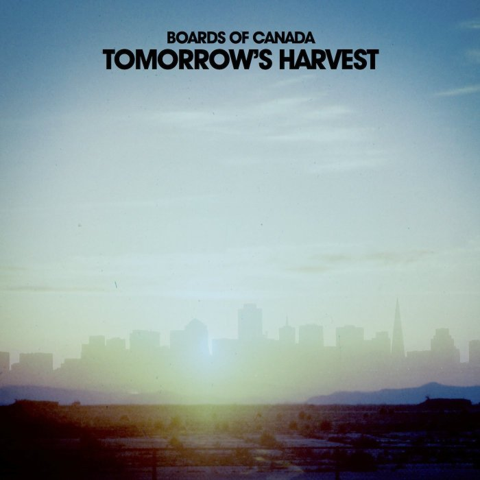 Boards of Canada Tomorrow's Harvest album cover - music for a post-apocalyptic age - we shall reap what we sow