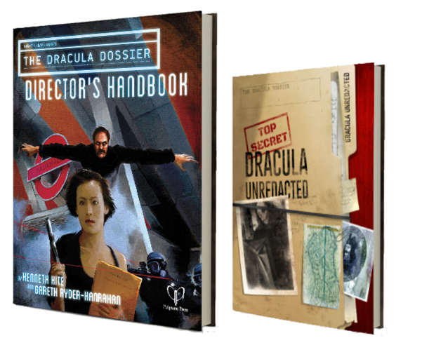 Dracula Unredacted and Director's Handbook two books that form The Dracula Dossier - Kenneth Hite