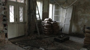 post-apocalyptic renovation building a survivor sanctuary photo Erin Jenne Princess Palace - All rights reserved