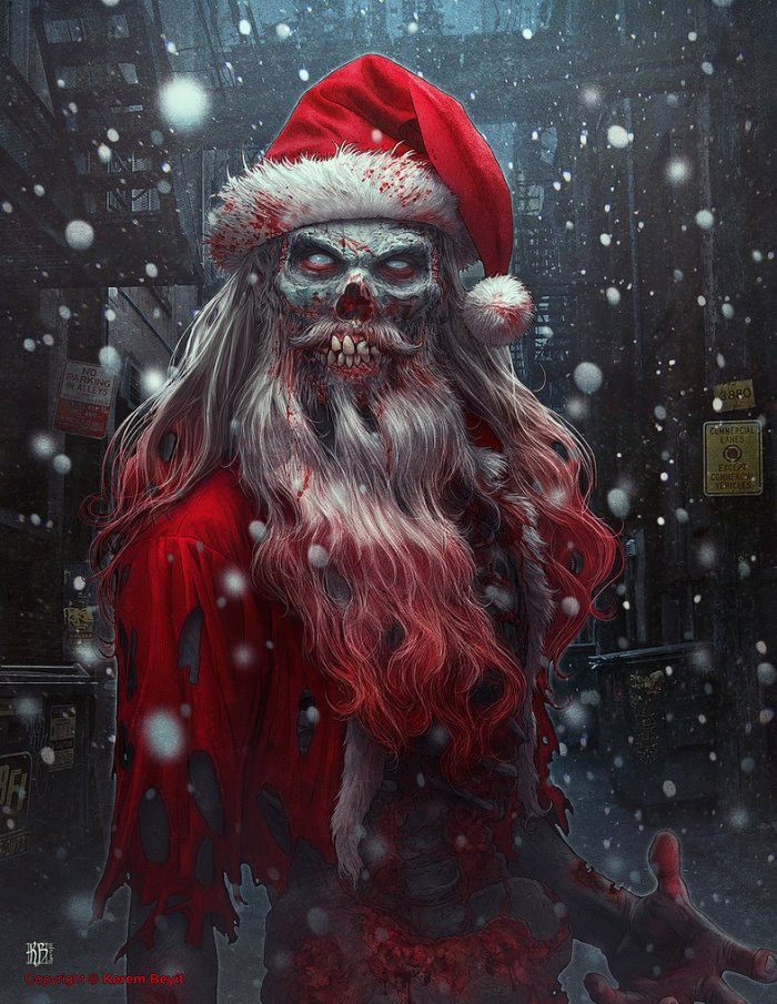 zombie_claus_by_kerembeyit