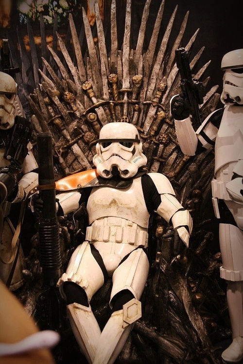 Game of Thrones Plot Twist Iron Throne Captured by Stormtroopers