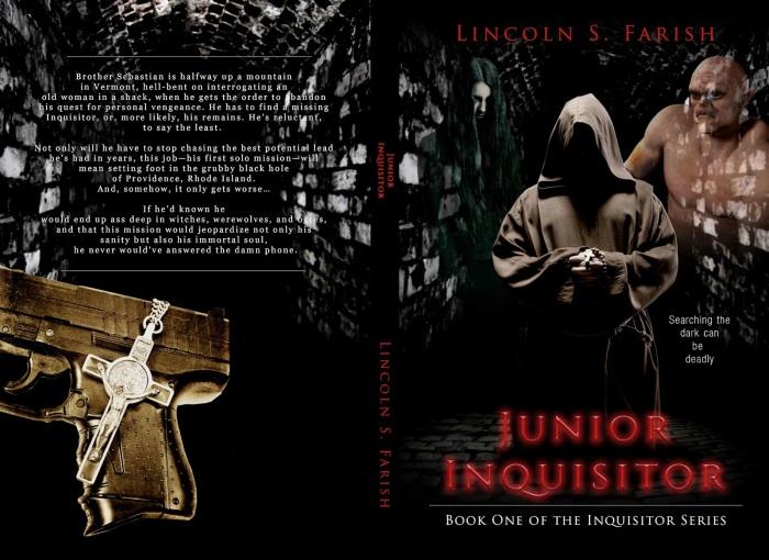 Junior inquisitor (Inquisitor Series Book 1) by horror author Lincoln Farish