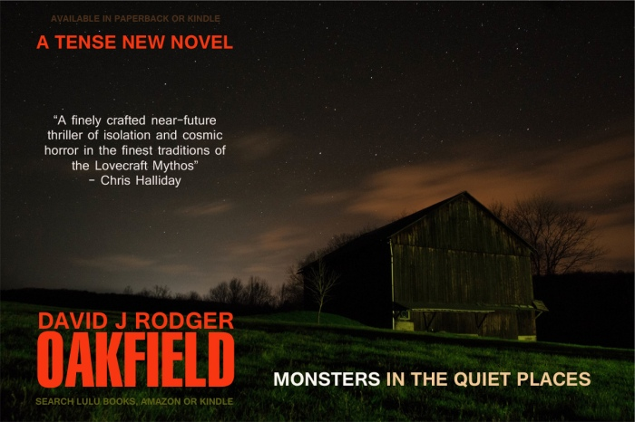 Oakfield is a new science fiction horror novel and good book to read by David J Rodger