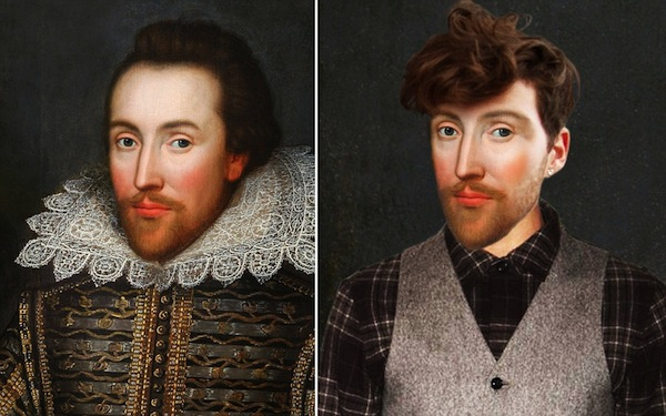 What would Shakespeare look like today - image Yesterday all rights reserved