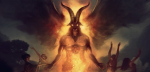 baphomet for Yellow Dawn - image by Borja