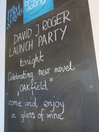 Launch Party for Oakfield a new release sci fi dark fantasy Cthulhu Mythos thriller by David J Rodger (13)