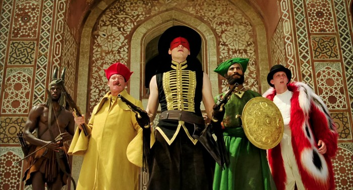 The Fall (2006)  Tarsem Singh - beautifully surreal yet simple characters played by Marcus Wesley, Robin Smith, Lee Pace, Jeetu Verma and Leo Bill