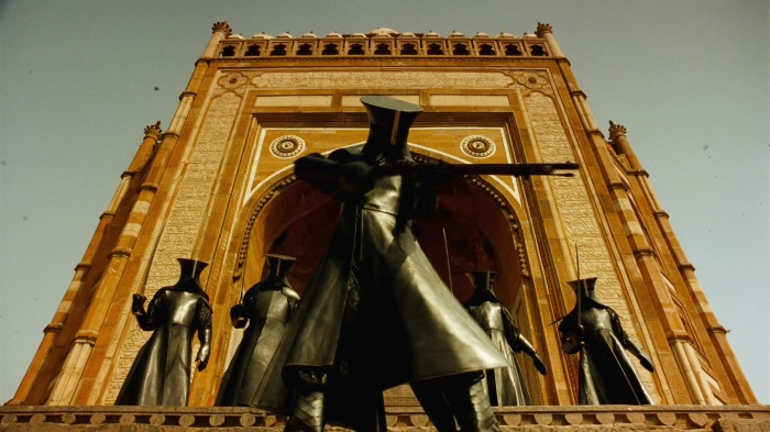 The Fall (2006)  Tarsem Singh - visually stunning allegorical story telling - dark soldiers of Governor Odious
