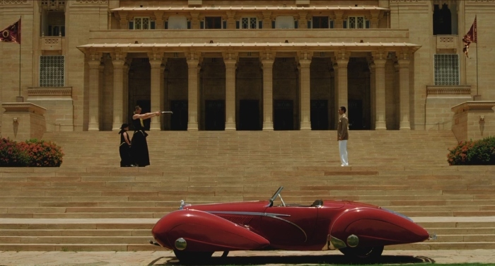 The Fall (2006)  Tarsem Singh - visually stunning movie that seamlessly blends fantasy and reality, technology and geography in a fantastic story of personal loss, revenge and private redemption