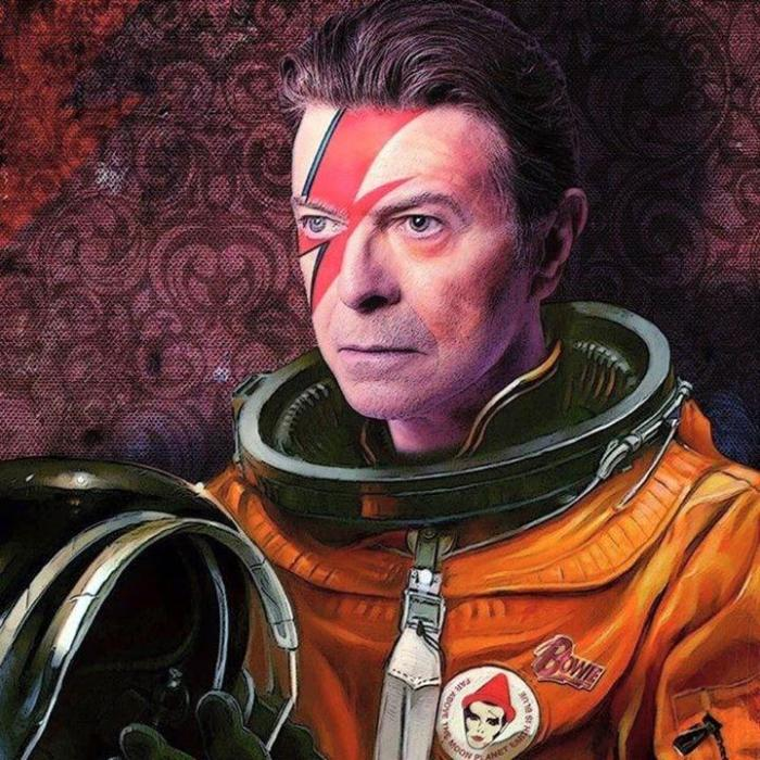 David Bowie astronaut hallo spaceboy ground control to major tom